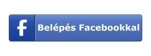 Bejelentkezés Facebookkal!